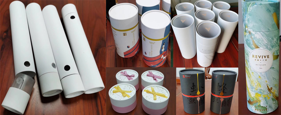 How much for custom printed paper tubes samples and if i
