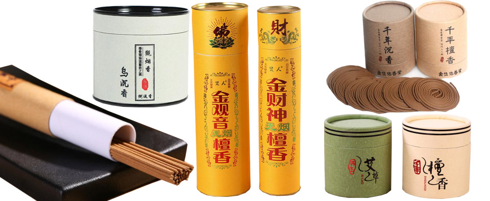 Custom coil incense sandalwood pure natural flavor agila